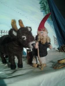 Tomte und Kuh